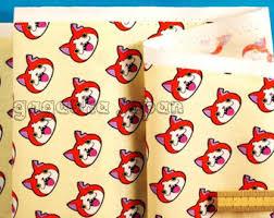 anime wrapping paper ultraman japanese cushion fabric panel japan anime kawaii