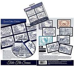 goodesign special edition toile tile embroidery cd
