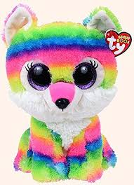 amazon river wolf beanie boo ty 9