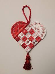 how to make a fabric scandinavian heart weallsew