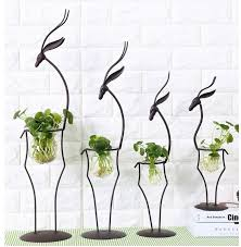 handmade pergola metal garden ornament for plants animal shaped