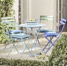 Metal Bistro Chairs High U0026amp Low Folding Bistro Chairs Apartment Therapy