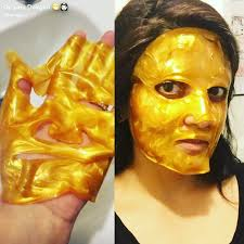 gold infused collagen treatment mask lara devgan md mph facs