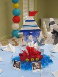 sailor baby shower decorations sailor baby shower baby shower party ideas baby shower