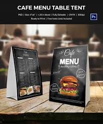17 images of table tent menu template infovia net