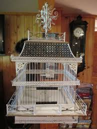 Shabby Chic Bird Cages by 540 Best Bird Cages Images On Pinterest Bird Houses Vintage