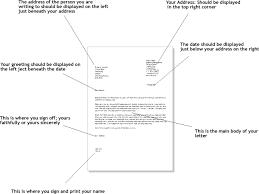 Formal Letter Template Uk formal letter format writing templates guides exles