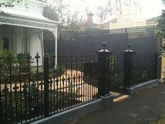 Front Yard Metal Fences - i want a wrought iron fence like this to surround my house must