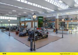pagani factory tour we are proud that neri lamps have been chosen to illuminate the