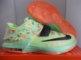 kd easter 5 nike kd vii 7 size 5 youth 5y gs easter green boys basketball shoe