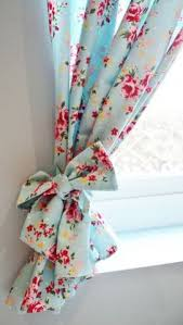 Shabby Chic Curtains Cottage Curtain Tie Backs Curtain Holdback Mint Green Set Of 2 Cast