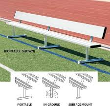 player u0027s bench with back athletic connection