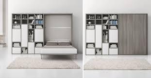 lit escamotable canapé lit escamotable avec rangements gain de place avec lit escamotable