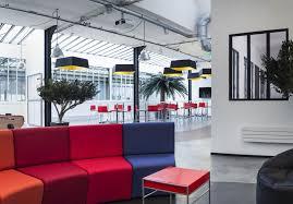 entreprise bureau mobilier claranet par cléram style design bureau architecture