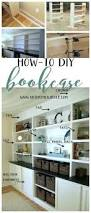 Homemade Bookshelves by How To Build A Bookcase Step By Step Woodworking Plans