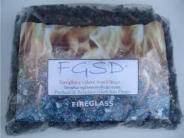 amazon com grey fireglass fireplace fire pit glass 1 4