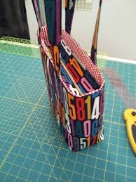pattern for tote bag with zipper tutorial add a recessed zipper to a tote stitch lab blog http