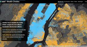 Nyc Maps Interactive Map Reveals The Income Gap That Divides Nyc U0027s Richest