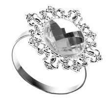art deco svan ring holder images Silver napkin holder ebay JPG