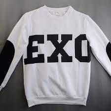find more t shirts information about new kpop unisex black exo sbs