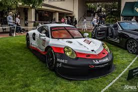 porsche supercar concept monterey car week 2017 pebble beach concept lawn porsche 911 rsr