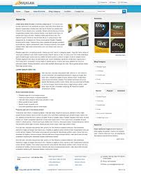freelance layout majalah majalah magazine style template 4 background by plentong