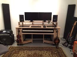 home studio workstation desk 65 most supreme home studio furniture computer desks build your own