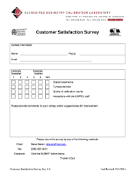 customer satisfaction survey template word fillable u0026 printable