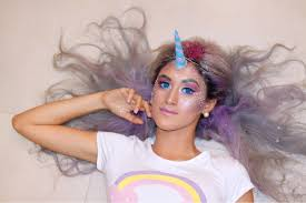 Unicorn Makeup Halloween by Unicorn Makeup Tutorial Halloween U2013 Delilac