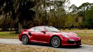 porsche dark red 2014 porsche 911 turbo s around the block youtube