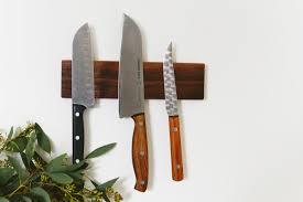 magnet for kitchen knives magnetic knife rack diy 44 jpg