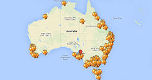 austrial map australian honey map links consumers to local beekeepers abc
