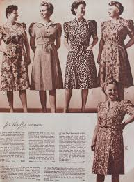 1940s plus size clothing dresses history