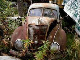 rusty car old rusty car by magicsart on deviantart