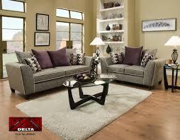 couch and loveseat set delta san miguel char u0026 elizabeth plum sofa u0026 loveseat set 4160