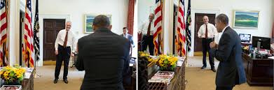 behind the lens when the president heard the news of the supreme