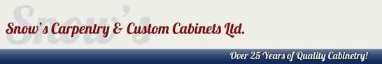 snow u0027s carpentry u0026 kitchen cabinets central newfoundland home