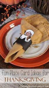 thanksgiving dinner place card ideas bootsforcheaper