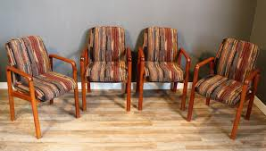 mid century danish teak dining chairs from dyrlund set of 4 for