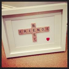 i wish i could make this for my best friend but i have no art