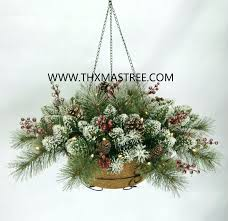 christmas hanging baskets with lights best 25 winter hanging baskets ideas on pinterest christmas plant a