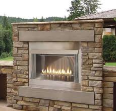 Contemporary Gas Fireplace Insert by 42