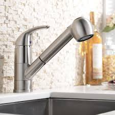 best single handle pull out down sprayer kitchen sink faucets