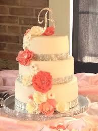 coral wedding cakes coral wedding cakes wedding cake ideas