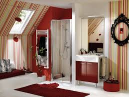 Red Bathroom Designs Colors 32 Best Red Bathrooms Images On Pinterest Red Bathrooms Red And