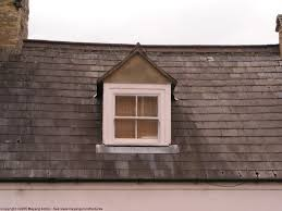 Gabled Dormer Decor U0026 Tips Roofing Textures With Slate Gabled Roof And Dormer