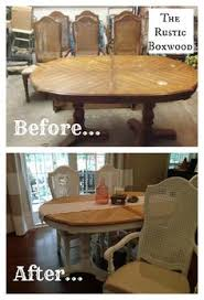 How To Refinish A Table Sand And Sisal by Before U0026 After Painted Living Room Furniture Glaze Coffee And