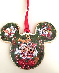 disney world mickey mouse flat icon porcelain ornament new duffy