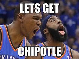 Chipotle Memes - lets get chipotle thunder chipotle quickmeme
