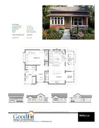 floor plan for small houses betty cottages ross chapin architects